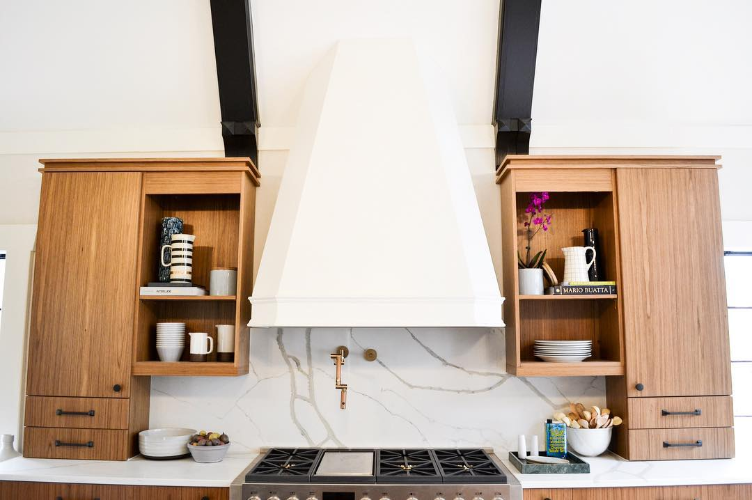 custom hood kitchen remodel
